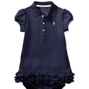 Ralph Lauren Navy Polo Dress